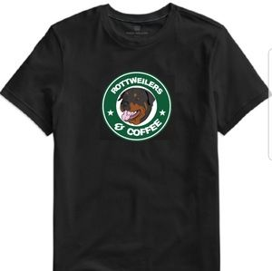 Tops - Rottweilers and Coffee Tee